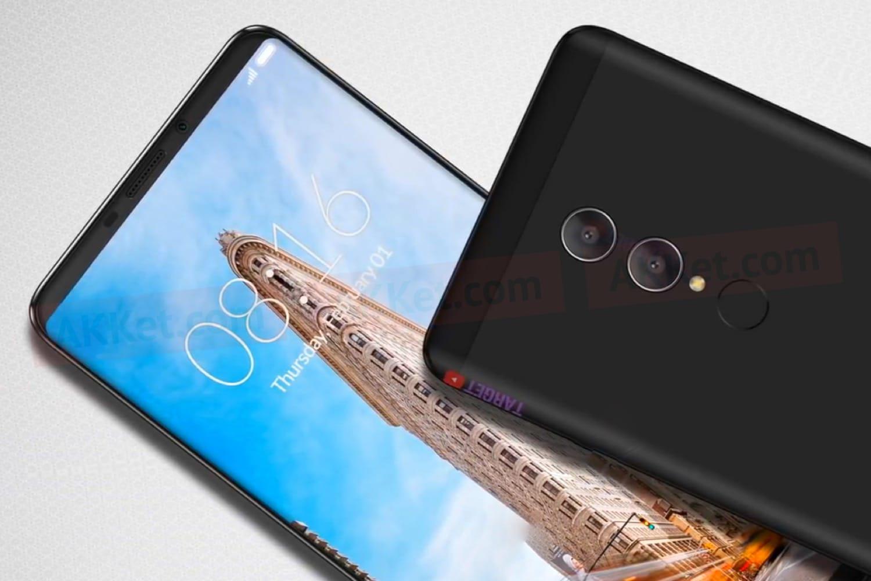 Несколько качественных рендеров Xiaomi Redmi Note 5 попали вСеть