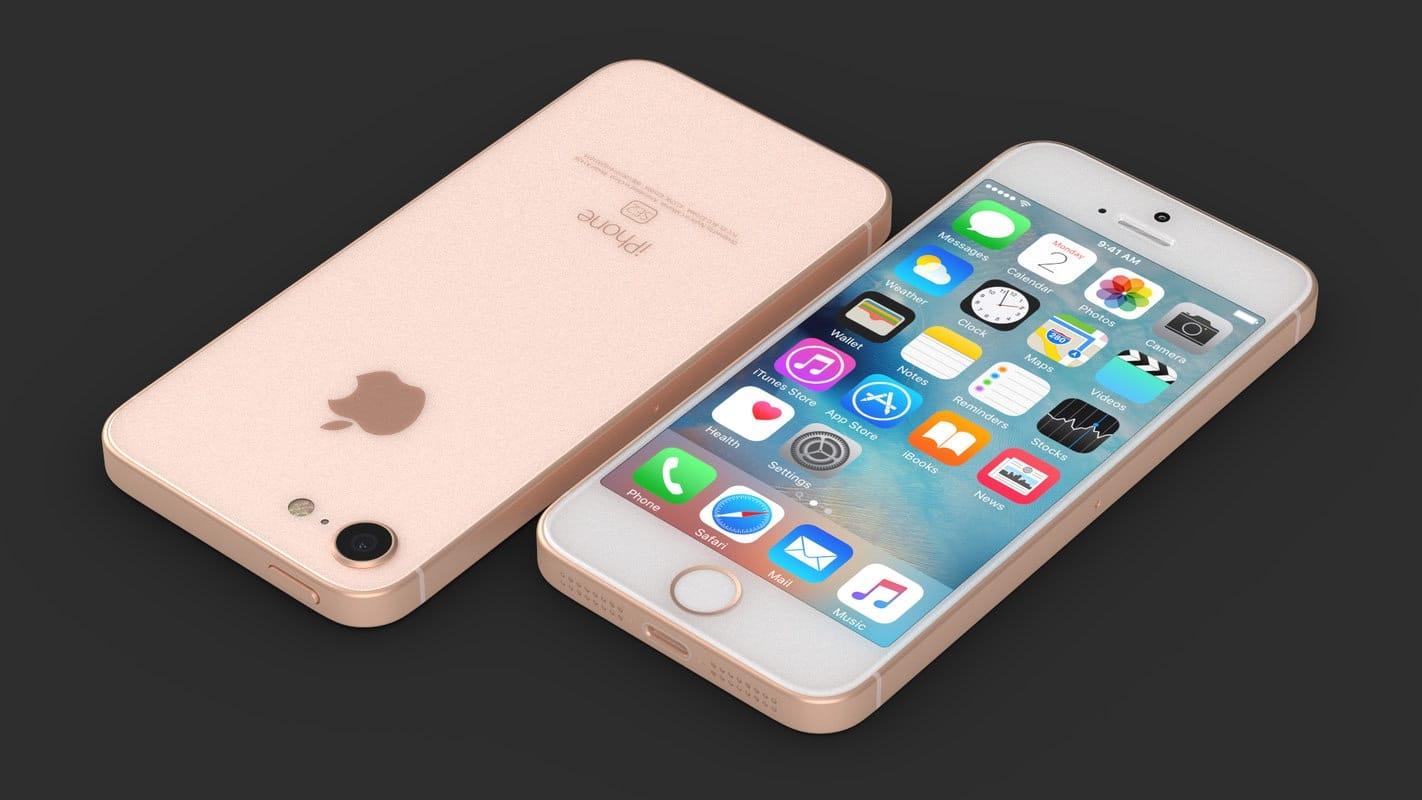 Настоящий iPhone SE 2 со стеклянным корпусом на ...