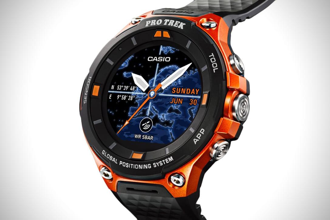 Casio представила самые защищенные вмире смарт-часы наWearOS