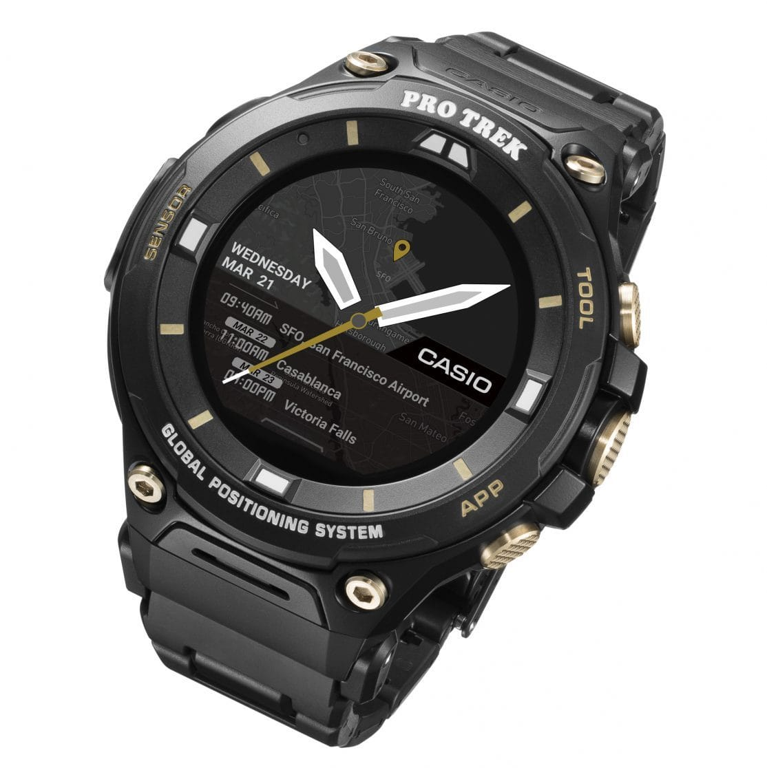 Casio презентовала «умные» часы WSD-F20SC
