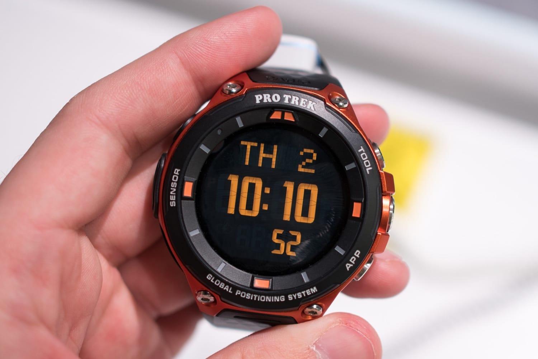 Представлены самые прочные смарт-часы Casio WSD-F20SC
