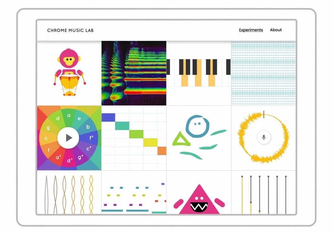 Юзеры браузера Google смогут бесплатно писать музыку
