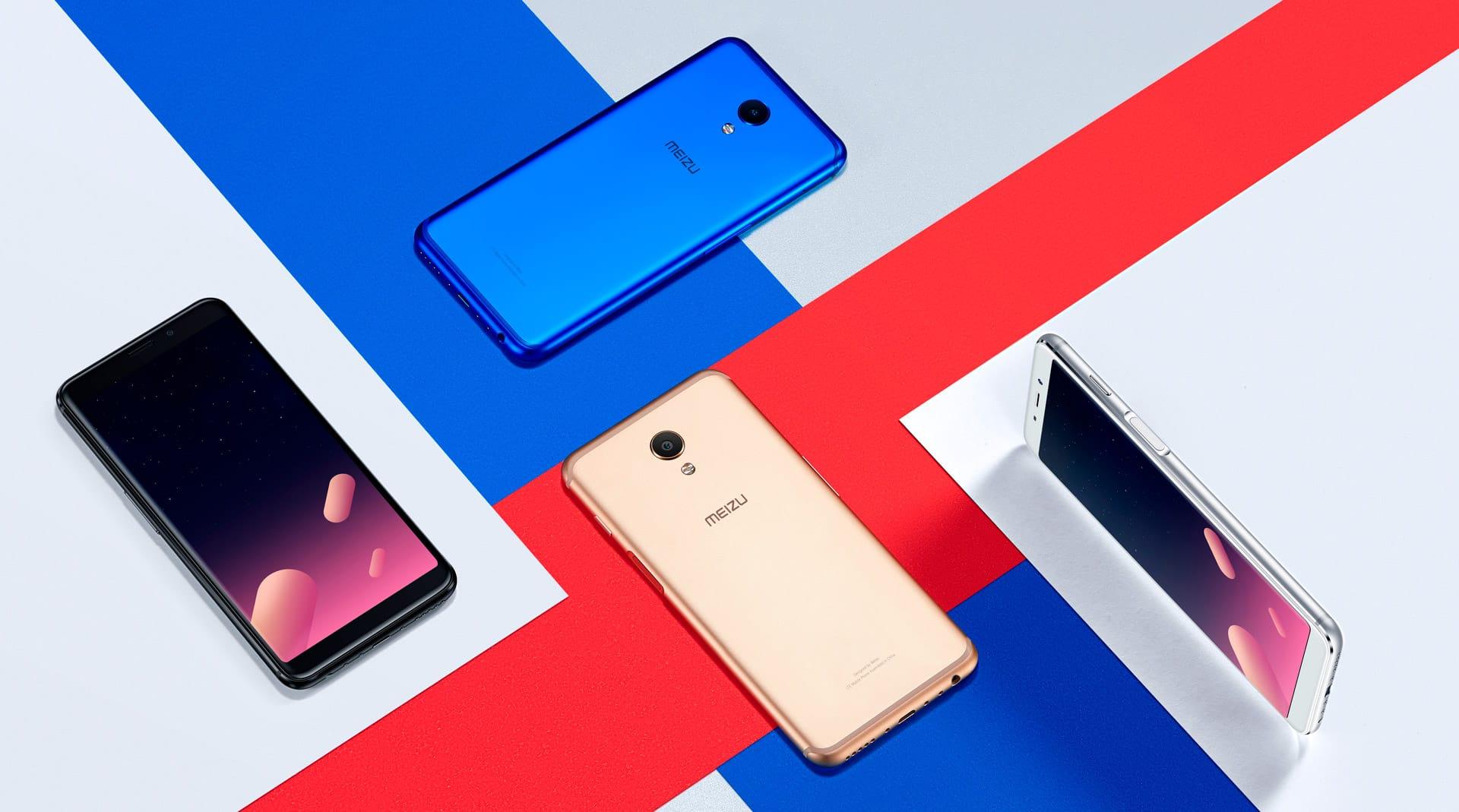 В Российской Федерации стартовали продажи телефонов Meizu M6s