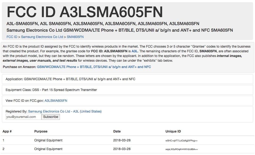 Самсунг Galaxy Note 9 будет идентифицировать владельца подыханию