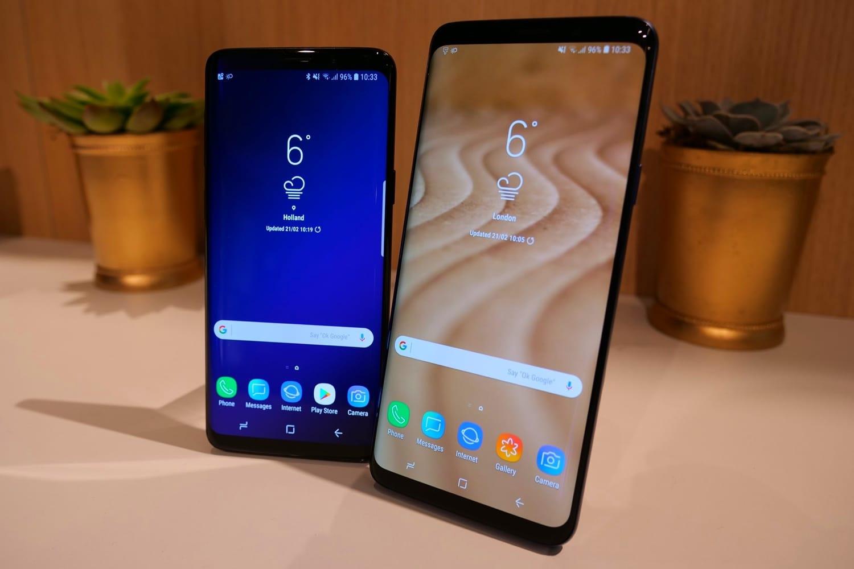 Юзеры Самсунг Galaxy S9 иGalaxy S9+ жалуются напроблемы стачскрином