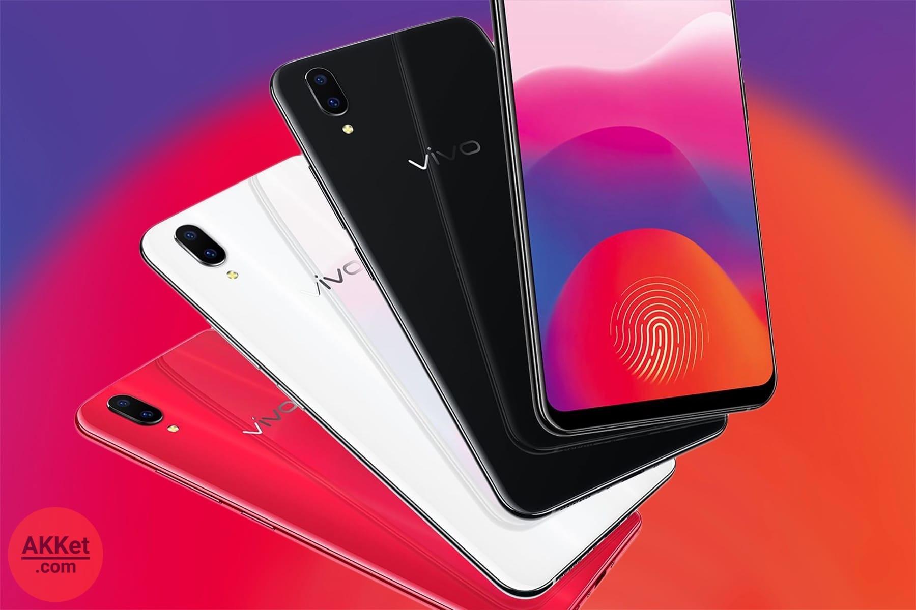 В КНР начались продажи телефона Vivo сосканером отпечатков пальцев вэкране
