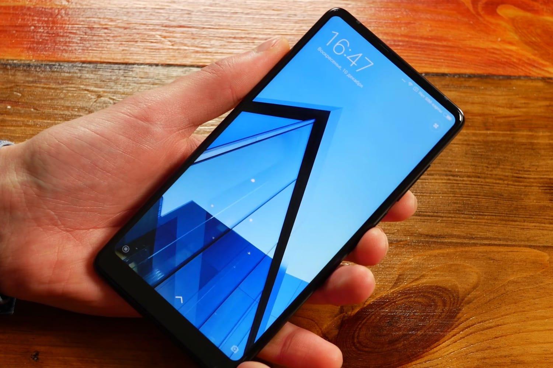 Xiaomi MiMIX 2S показали на«живом» фото