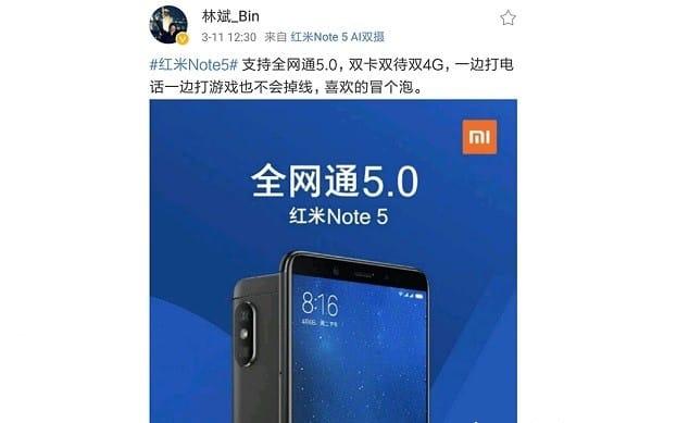 Xiaomi привезла в РФ Redmi 5 иRedmi 5 Plus