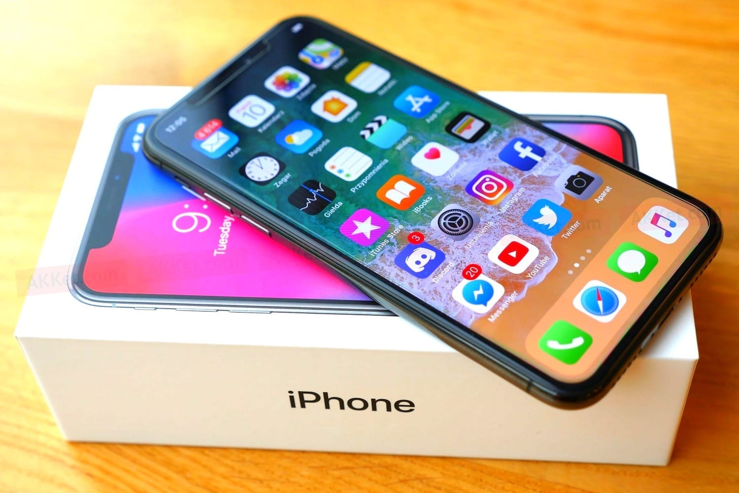 The new iPhone because of the Apple A12 processor will be