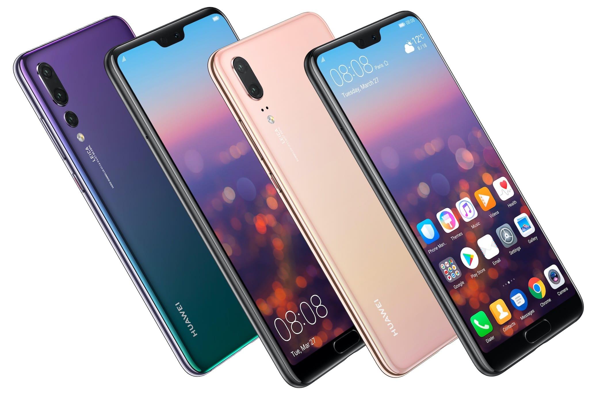 Huawei P20 Pro признали лучшим камерофоном 2018 года