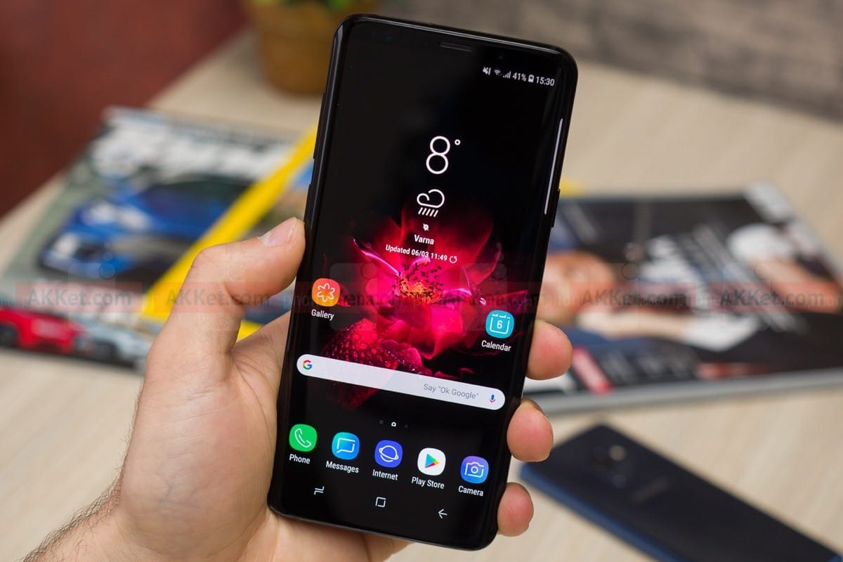 Самсунг Galaxy S10 продемонстрировал лицо