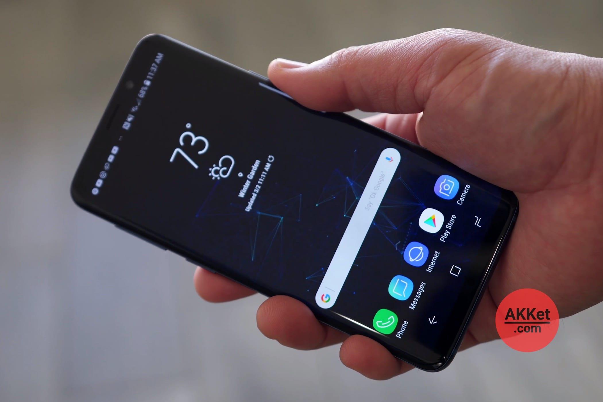 Новый Самсунг Galaxy Note 9 сумеет узнавать пользователей подыханию