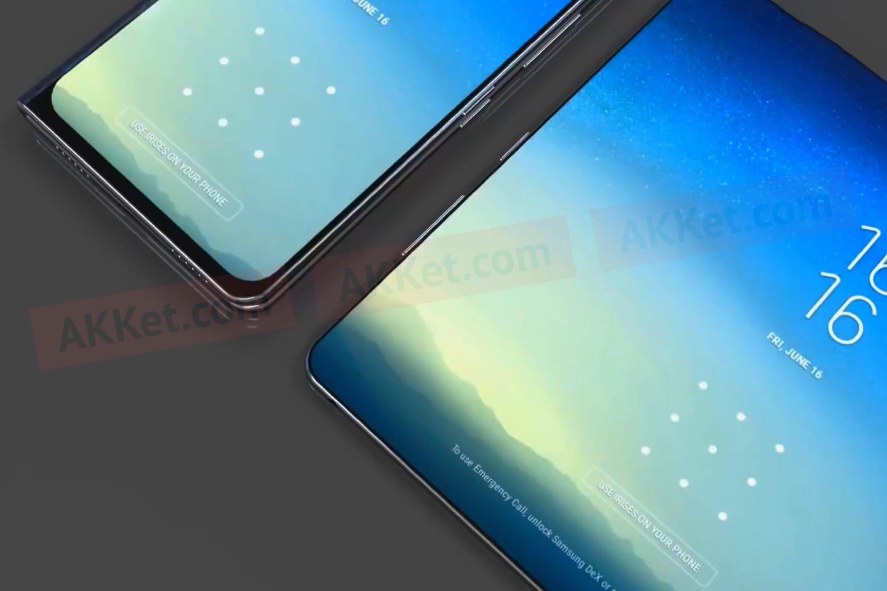 Раскрыты новые детали оскладном Самсунг Galaxy X