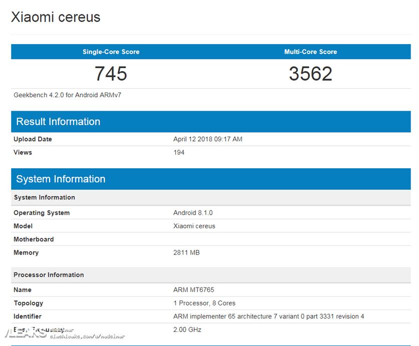 Xiaomi готовится кпрезентации Xiaomi MiA2 ивыпуску Redmi 6A