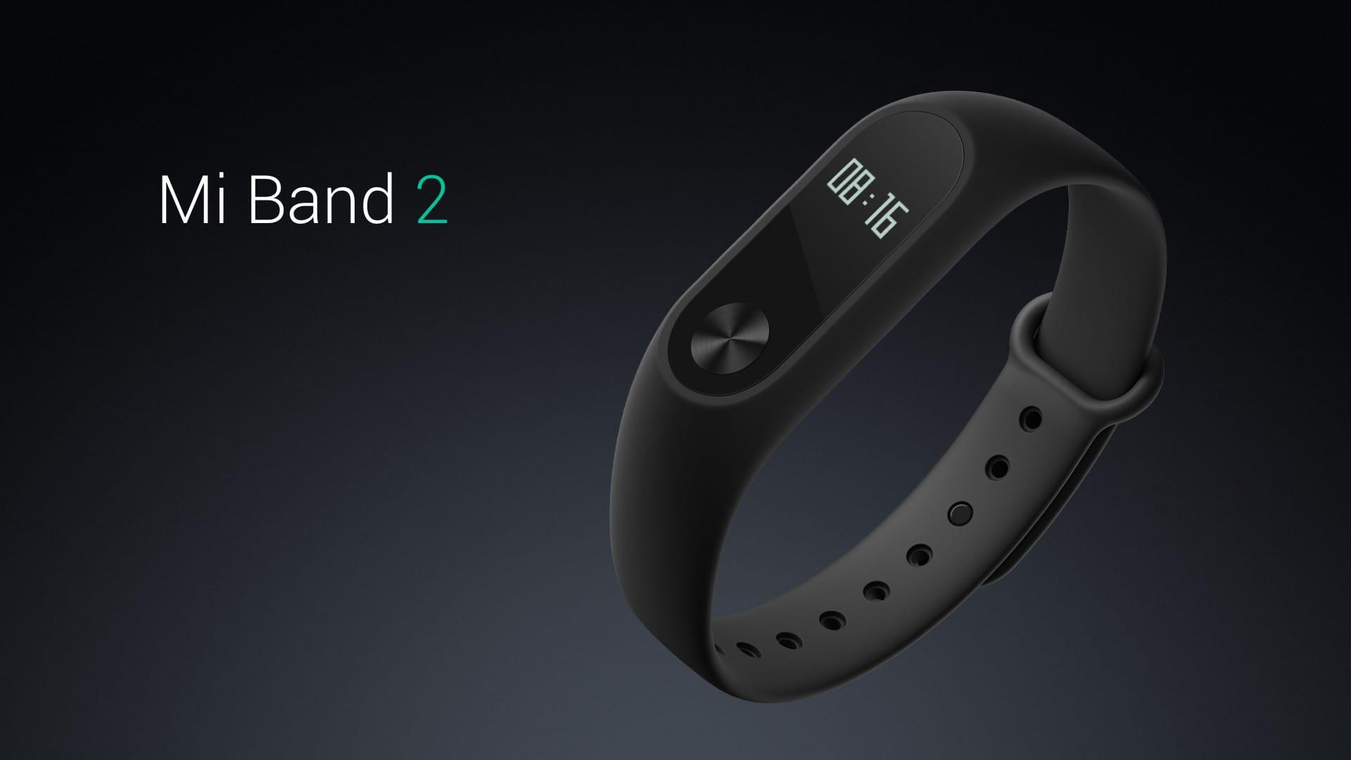Компания Xiaomi представила смарт-браслет MiBand