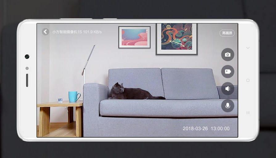 Xiaomi Small Square 1S: улучшенная IP-камера затеже деньги