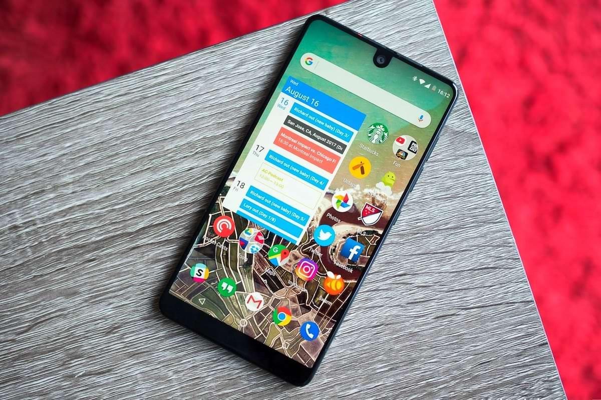 Essential Энди Рубина отменила разработку нового телефона ирассматривает возможность продажи проекта
