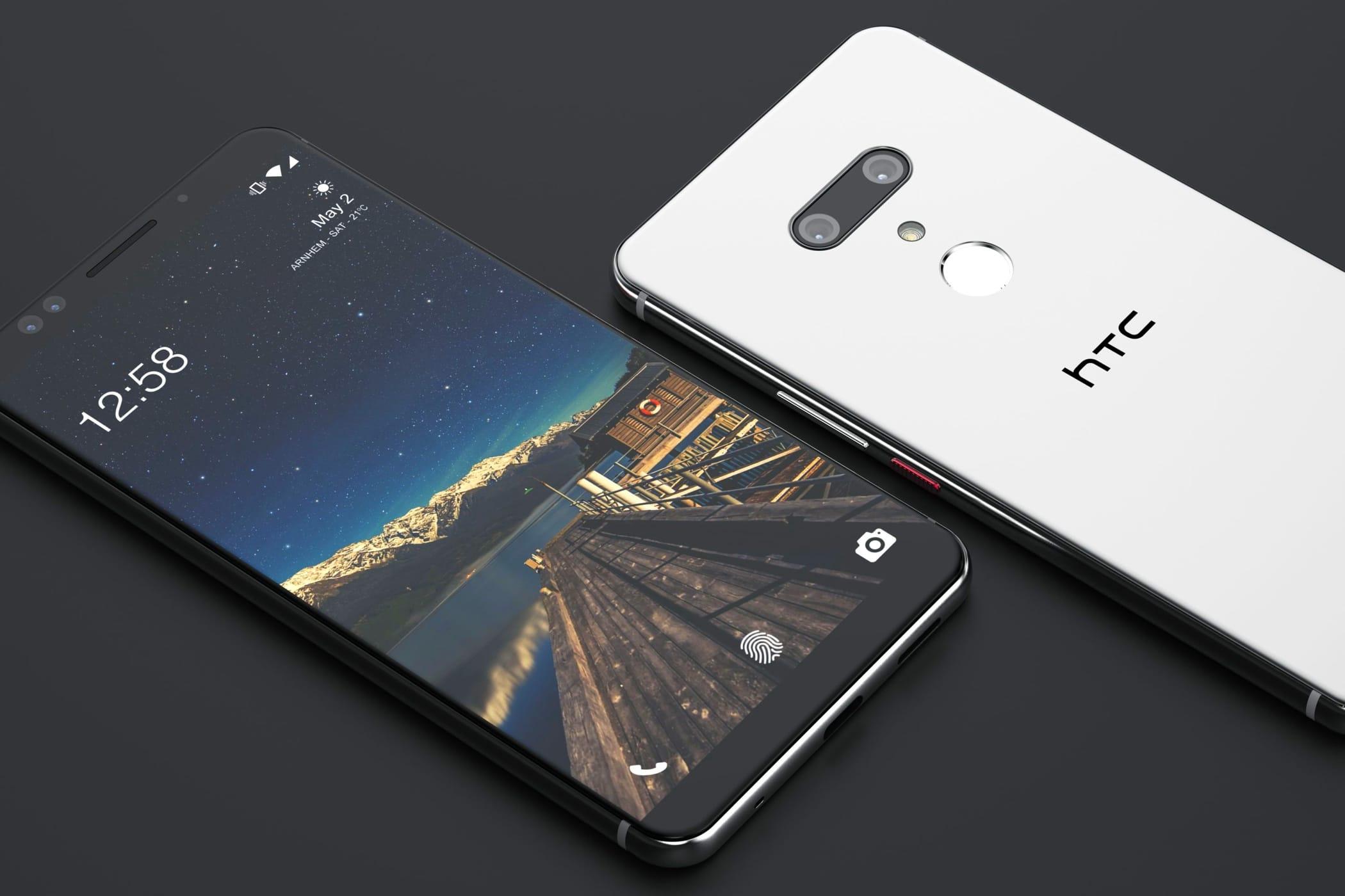 Дизайн ихарактеристики телефона HTC U12+ рассекречены доанонса