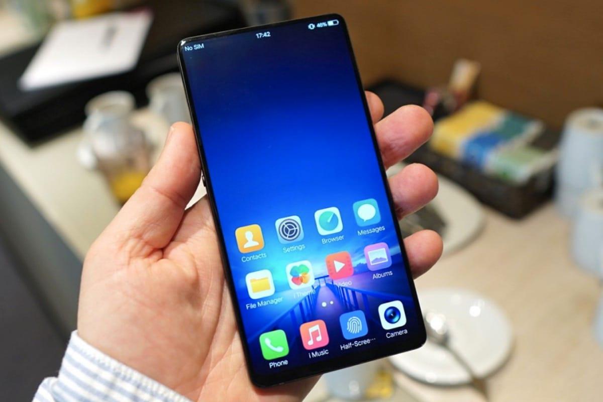 Концепт-кар: Lenovo Z5— «по-настоящему» безрамочный телефон