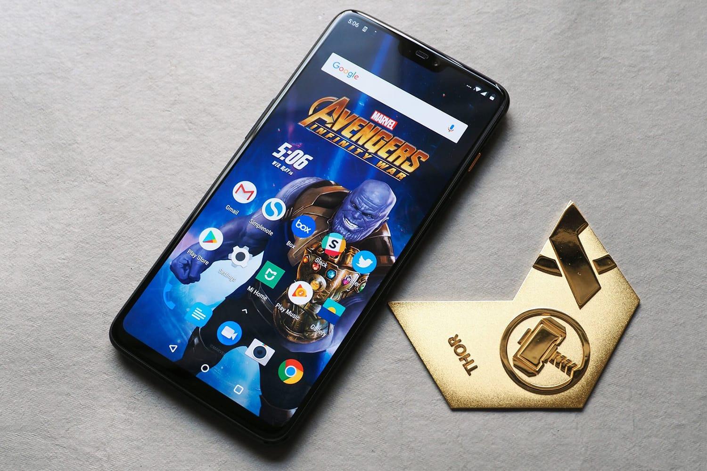 В Сети появились первые фото «супергеройского» смартфона OnePlus 6 Avengers