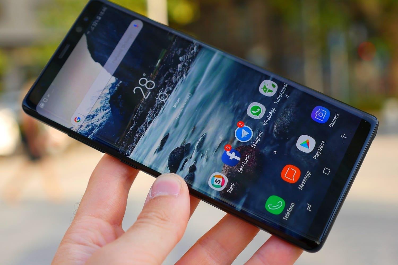 Рендер телефона Самсунг Galaxy Note 9 доступен вглобальной web-сети