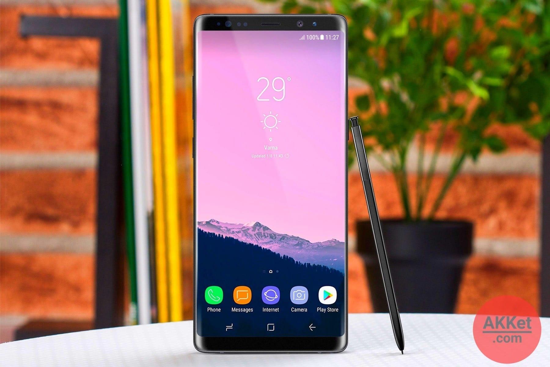 Galaxy Note 9 дебютирует ранее доэтого положенного срока иполучит полезное обновление