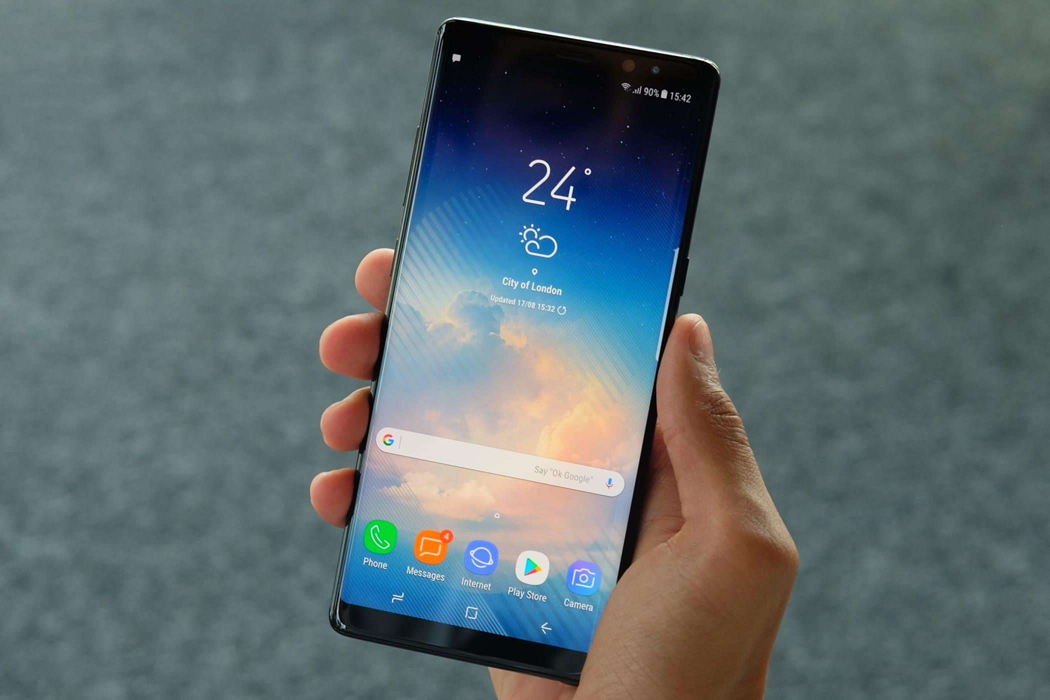 Galaxy Note 9 представят намесяц раньше, чем доэтого планировали