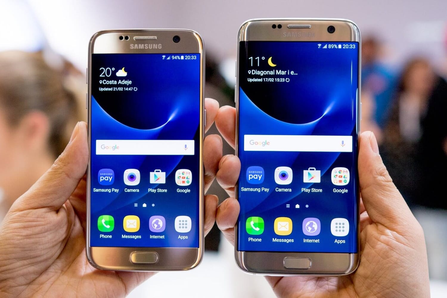 Samsung was lasting fortunate owners of the Galaxy S7 and Galaxy S7