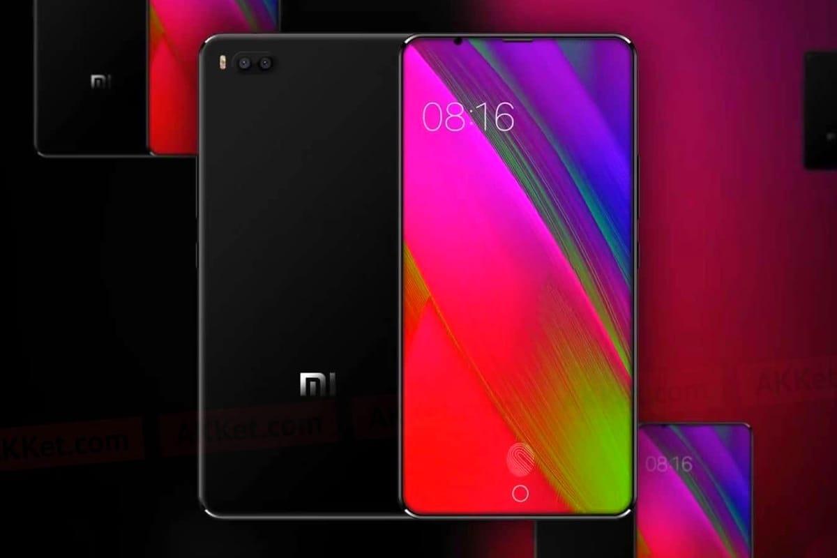 3D-система распознавания лица Xiaomi Mi7 (Mi8) нарендере?