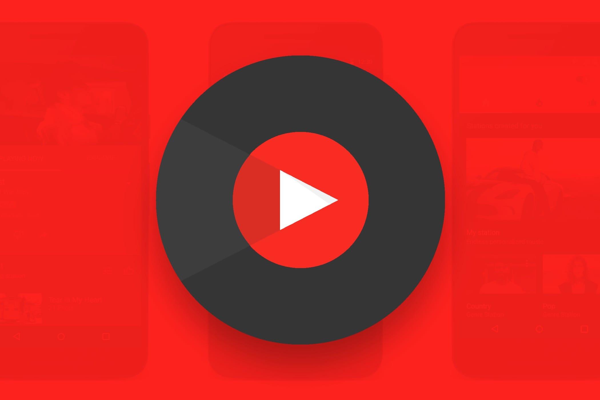 YouTube запустил музыкальный сервис