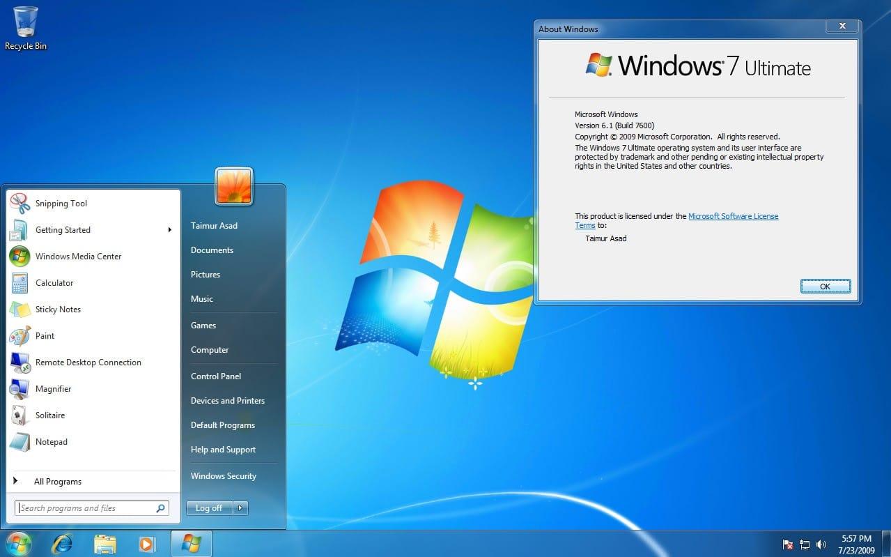 Microsoft больше небудет поддерживать Windows 7 настаром оборудовании