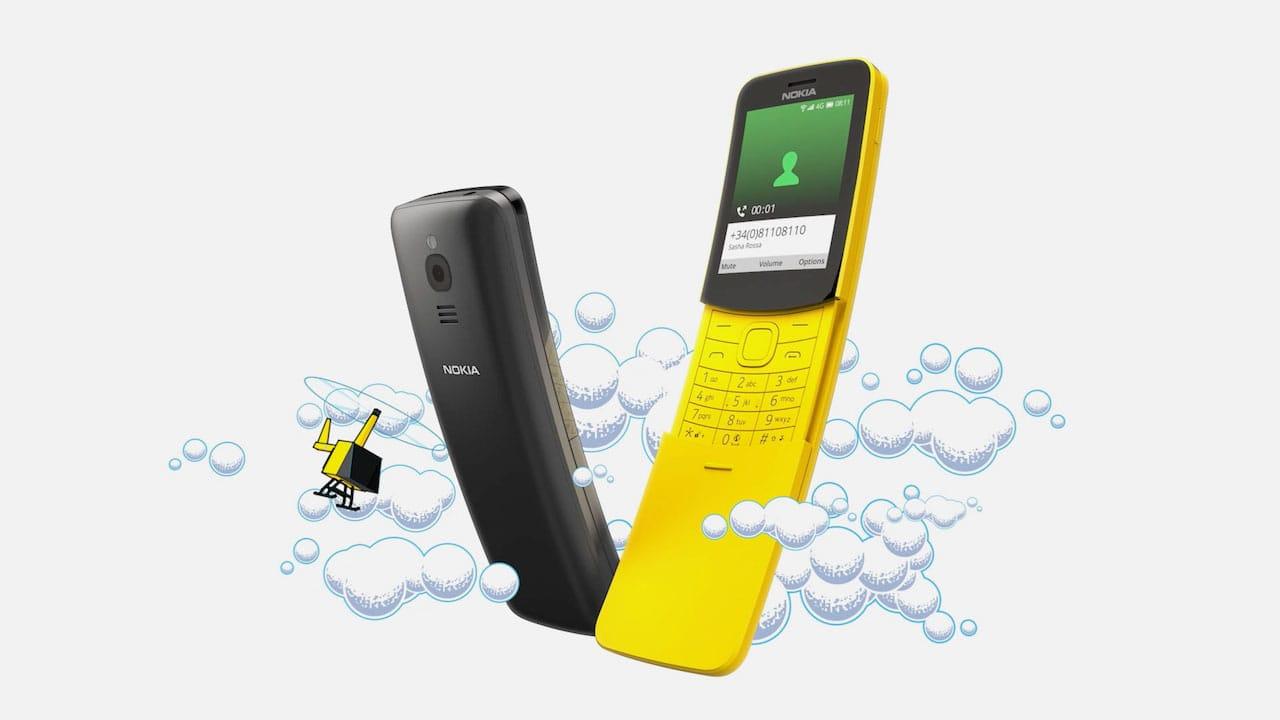 Телефон-банан Nokia 8110 4G надійшов у продаж