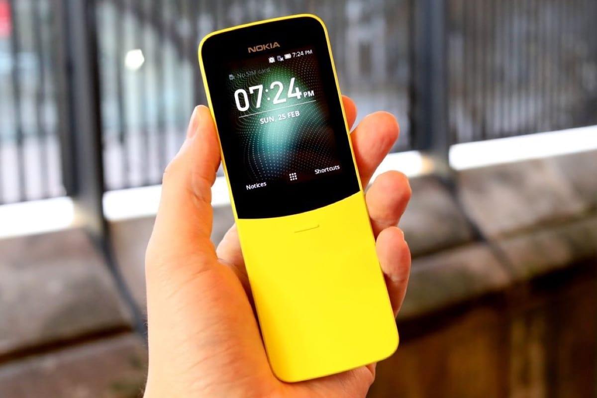 Нокиа начала продажи в Российской Федерации «телефона-банана» 8110 4G