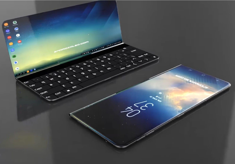 Image Result For Samsung Folding Phone