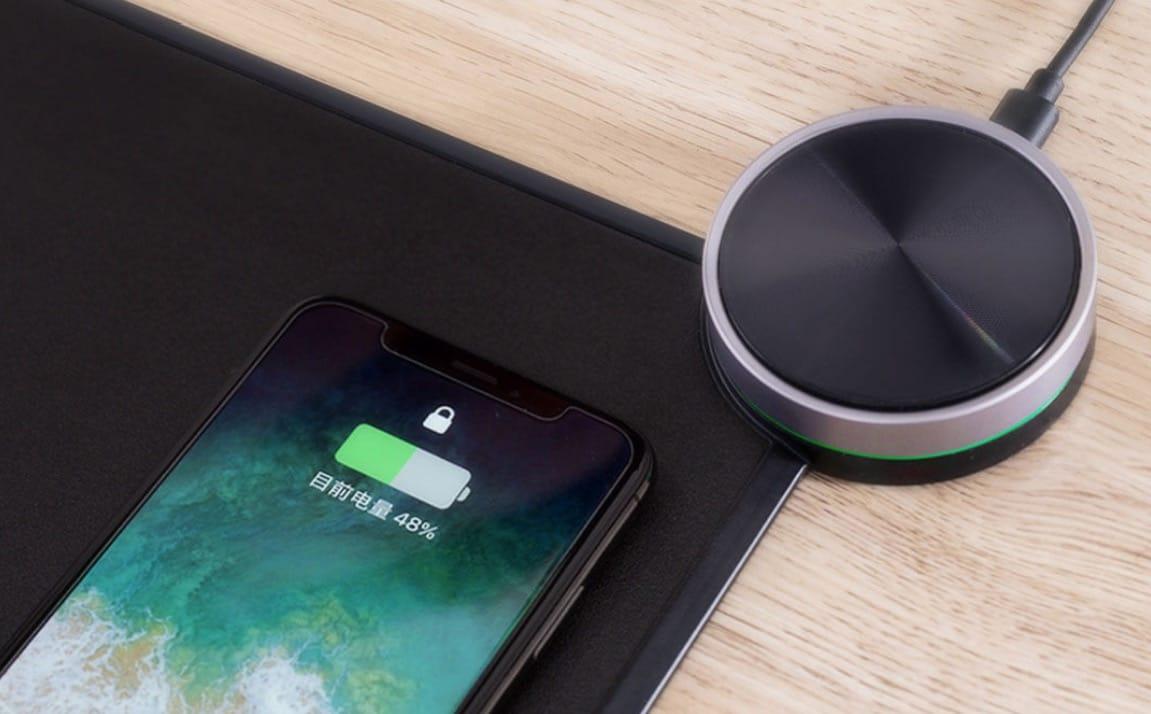 Xiaomi Mi Смарт Mouse Pad: коврик для мыши сфункцией беспроводной зарядки