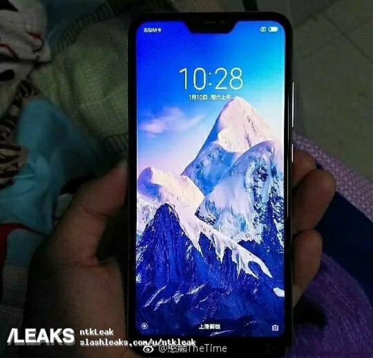 Размещены «живые» фото телефона Xiaomi Redmi 6 Pro