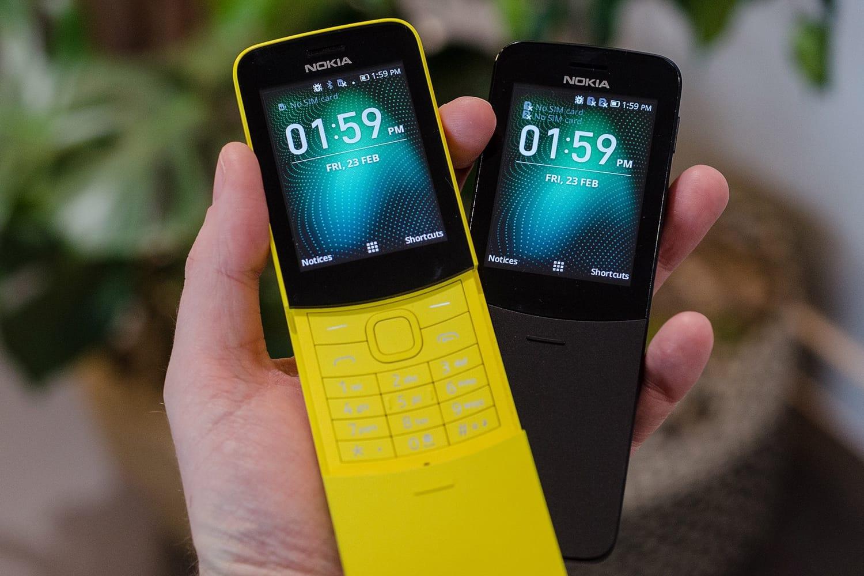 Легендарный телефон-банан нокиа 8110 4G Reloaded поступил в реализацию в Российской Федерации