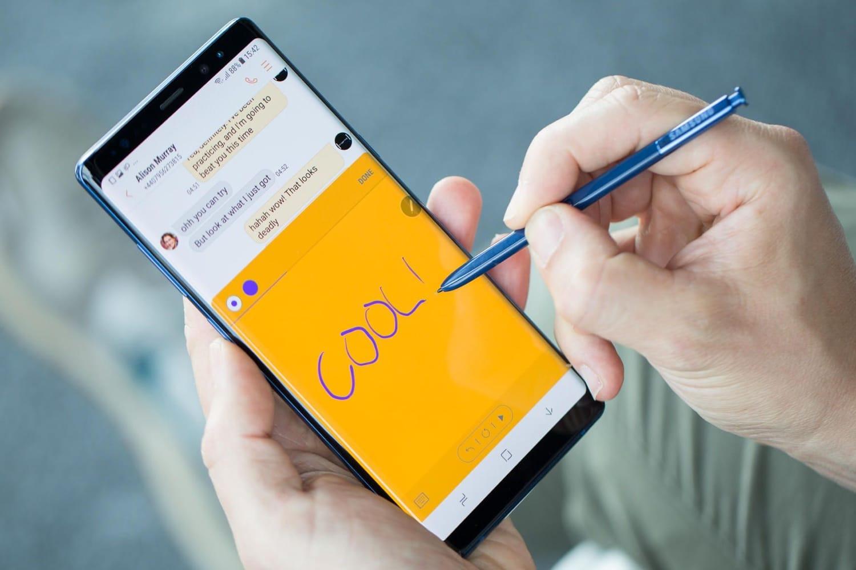 0<br /> Раскрыты тайные возможности стилуса S Pen от Samsung Galaxy Note 9
