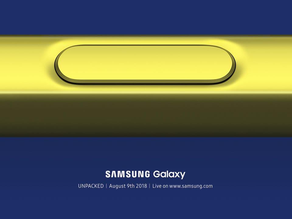 Стилус Самсунг Galaxy Note 9 сумеет управлять музыкой икамерой