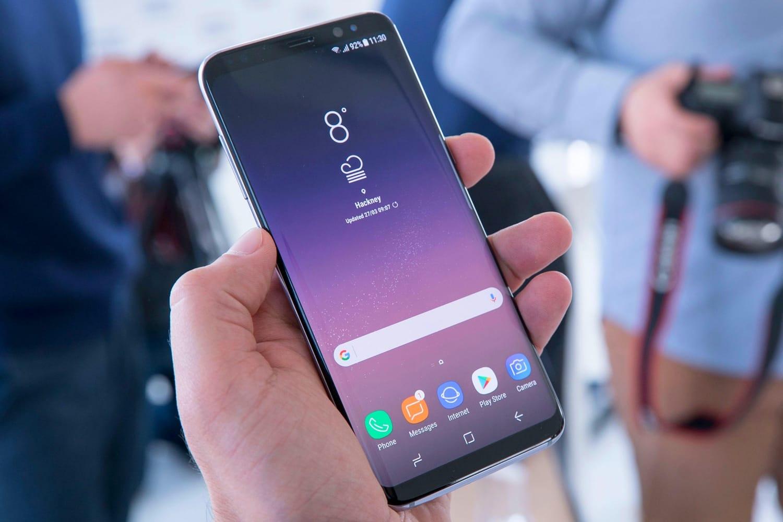 Самсунг Galaxy S8 резко упал вцене— Время покупки
