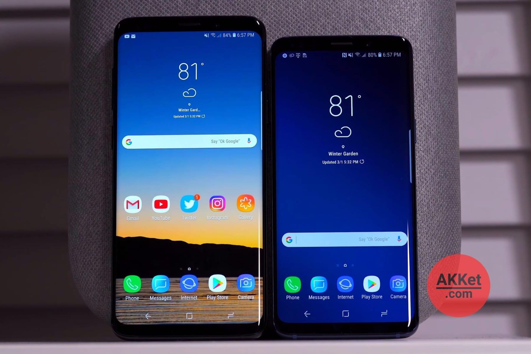 В Самсунг признали падение спроса наGalaxy S9