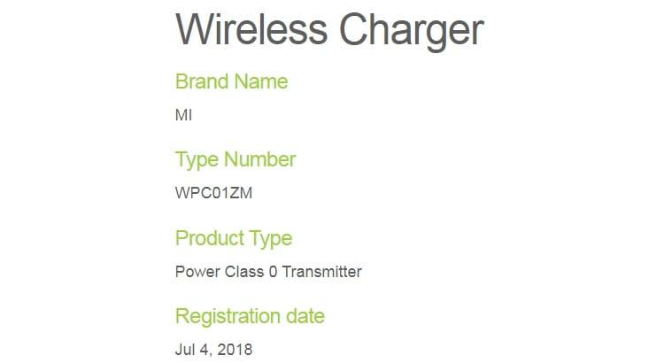 Беспроводная зарядка Xiaomi будет заряжать вразы скорее