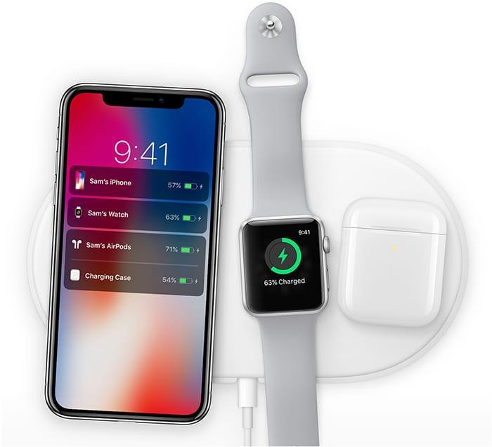 Беспроводная зарядка Apple AirPower появится одновременно сновым iPhone
