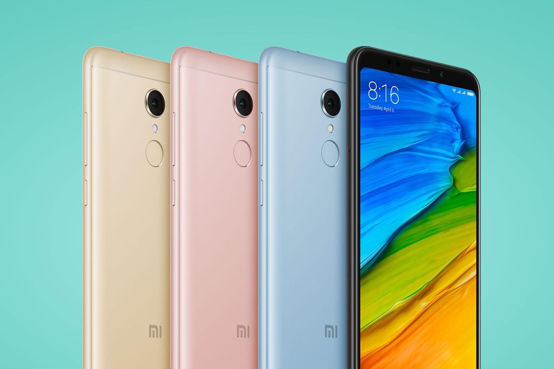 Смартфон Xiaomi Redmi 5 рухнул вцене