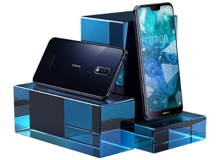 Представлен смартфон нокиа  X7— 1-ый  аппарат производителя сSoC Snapdragon 710