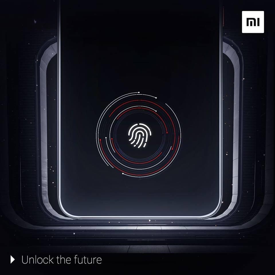 Xiaomi Mi Note 4презентация смартфона со встроенным в экран сканером отпечатков