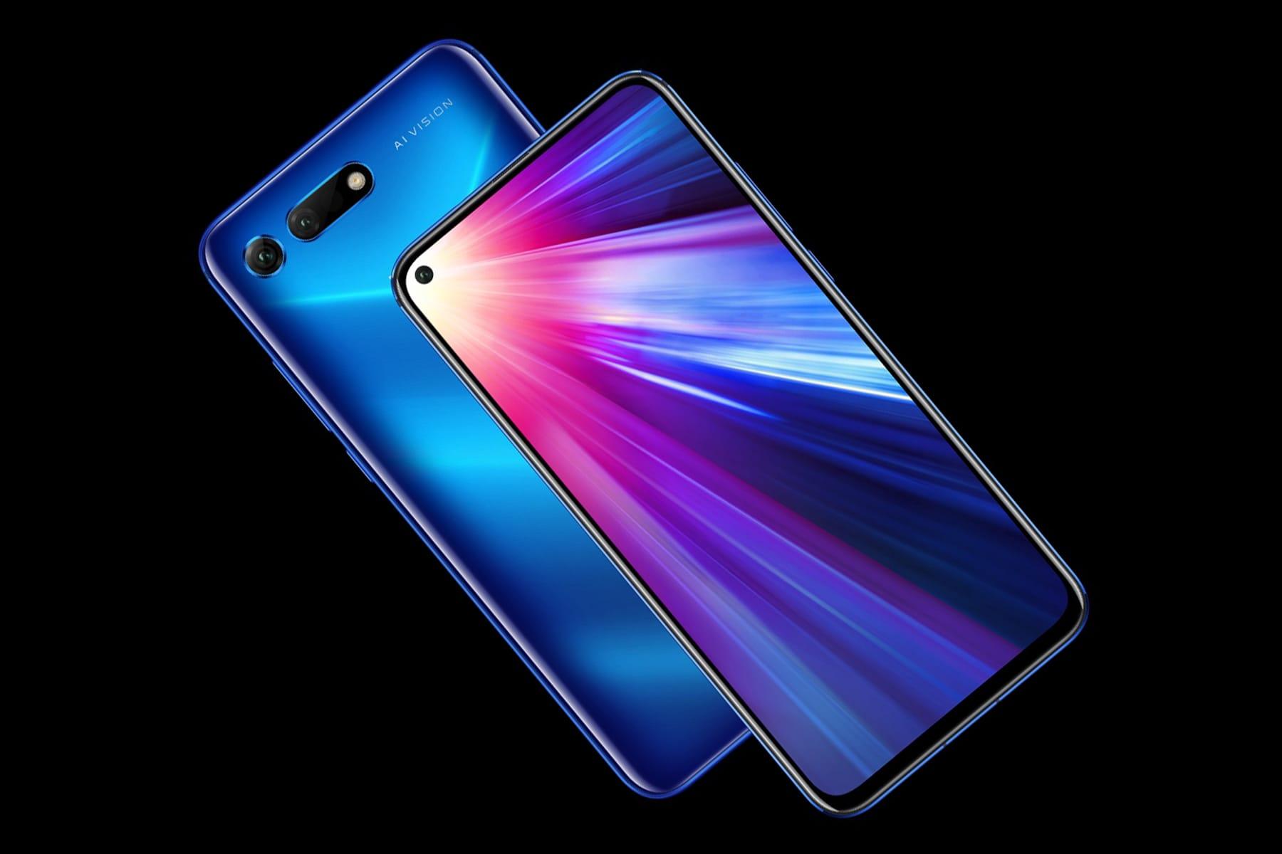 0 Анонс Huawei Honor V20 – смартфон с тройной камерой и отверстием в экране