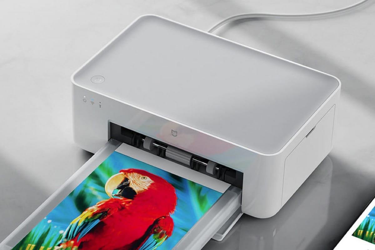 Xiaomi выпустила компактный принтер для фото за72 доллара