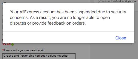 AliExpress массово блокирует учетные записи пользователей