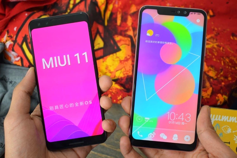 MIUI 11 на Xiaomi